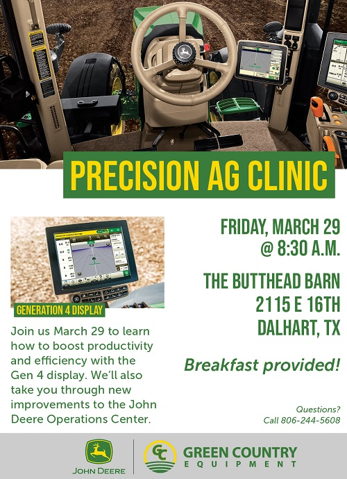 Precision Ag Clinic by Green Country Equipment